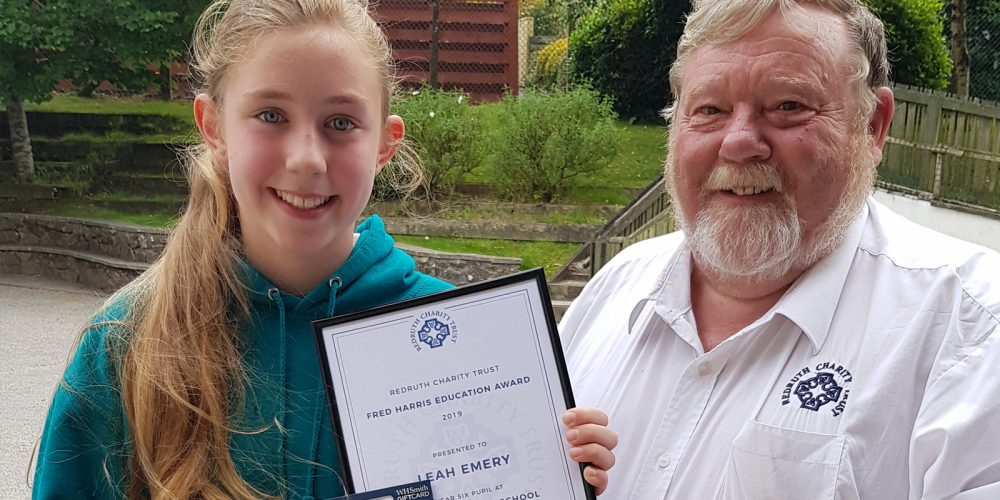 £3400 donated in the 2019 Fred Harris Awards