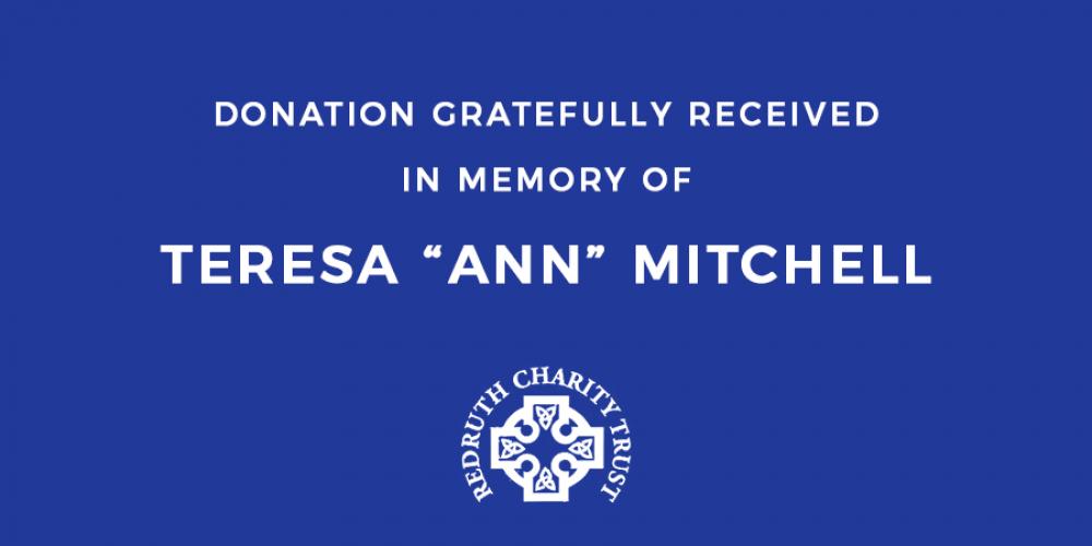ANN MITCHELL FUNERAL DONATION