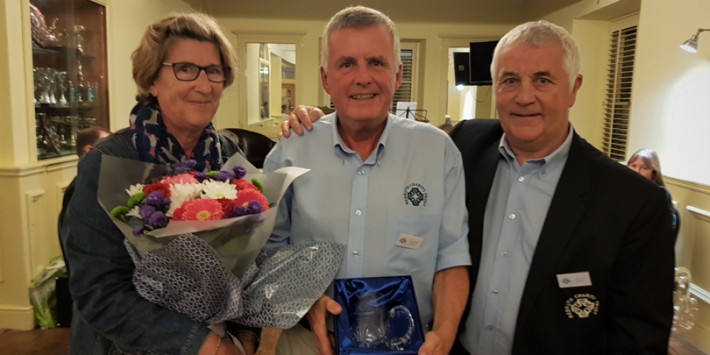 Recognising 30 Years as Treasurer