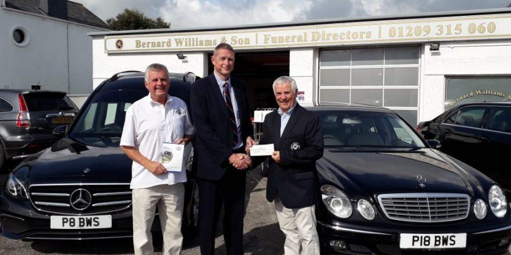 Bernard Williams & Son Donation