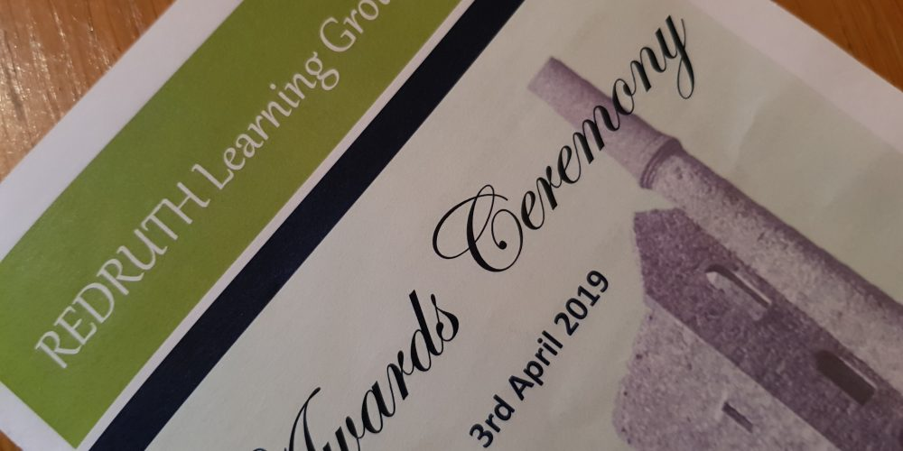 First Perpetual Shield for Redruth Learning Group Awards