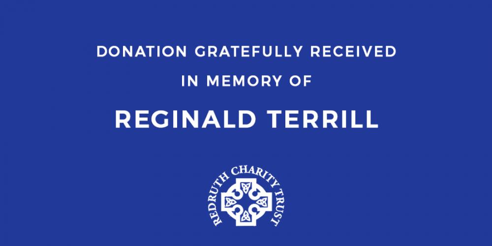Reginald Terrill Funeral Donation